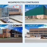 MÁS DE 60.000 M2 CONSTRUIDOS EN MEGAPROYECTOS INDUSTRIALES